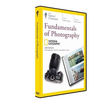 With Fundamentals of Photography, you'll learn everything you need to know about the art and craft of great photography.