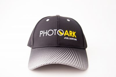 Photo: Details of Joel Sartore Photography hats for sale images.