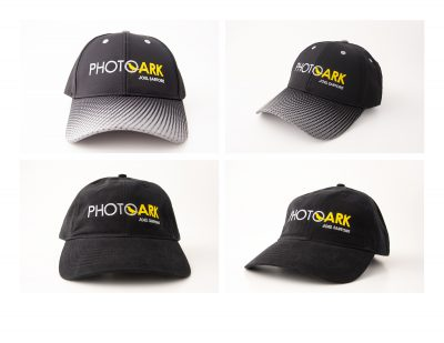 Help support and spread the word about the Photo Ark by sporting a new Photo Ark hat.