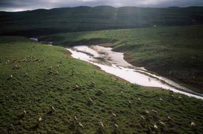 ast and unexplored, the Utukok Uplands are the summer calving grounds for the western arctic caribou herd. The area is thought to be underlain with deposits of coal, making the area vulnerable to strip mining.