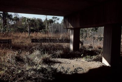 Photo: This wildlife underpass allows endangered Florida panthers and other species to cross Alligator Alley - Highway 75 - near Naples, Florida.