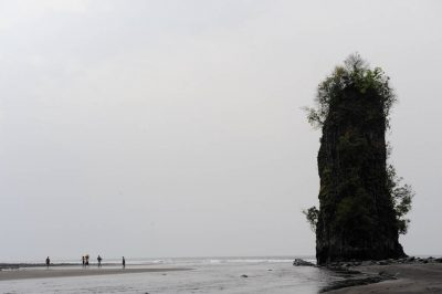 Photo: Scenic from the beach of Bioko Island.