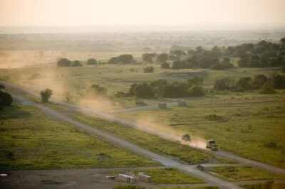 Photo: Fort Hood, a 200,000-acre military base, Texas.
