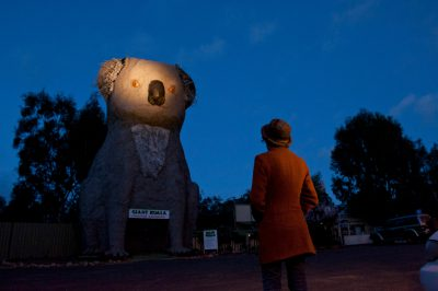 Photo: The Giant Koala at Dadswells Bridge, Australia, is the largest koala on the planet at 14 meters (46 feet) tall.