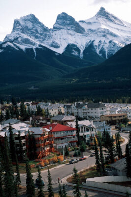 Photo: Canmore, Alberta is near Banff National Park, the site of a wildlife overpass.