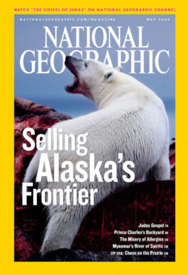 Photo: The May 2006 issue of National Geographic Magazine.