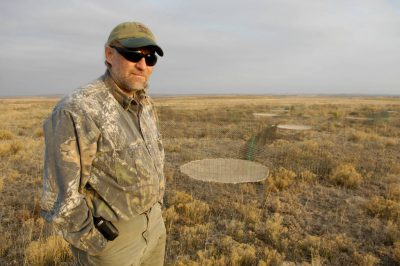 Photo: An overview of one of the last gobbling grounds of the lesser prairie chicken in Laverne, Oklahoma.