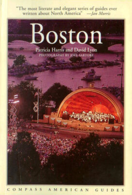 Photo: Joel Sartore's photograph of the Pops Orchestra is featured on the cover of a guide to Boston.