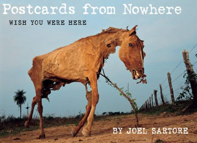 "Photo: The cover of ""Postcards from Nowhere"" by Joel Sartore."