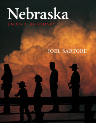 Photo: The cover of Nebraska: Under a Big Red Sky by Joel Sartore (University of Nebraska Press)