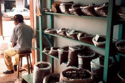 Photo: Medicinal plants for sale at the market in Paragominas, Brazil.