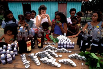 Photo: Medicines made from tropical forest trees play an importantrole in rural
