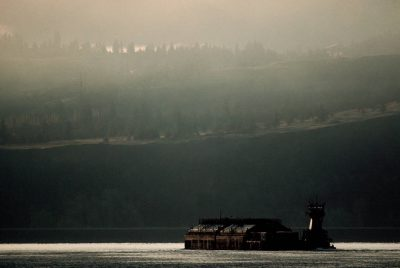 Photo: Barging on the Columbia River.