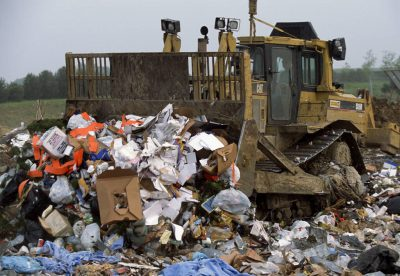 Photo: A landfill in Lincoln, Nebraska.