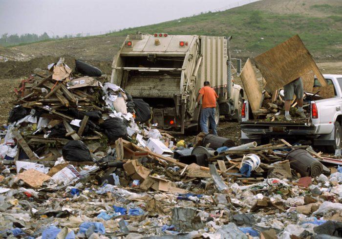 Photo: A landfill in Lincoln, Nebraska.