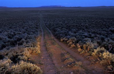 Photo: A road near Pinedale, WY.