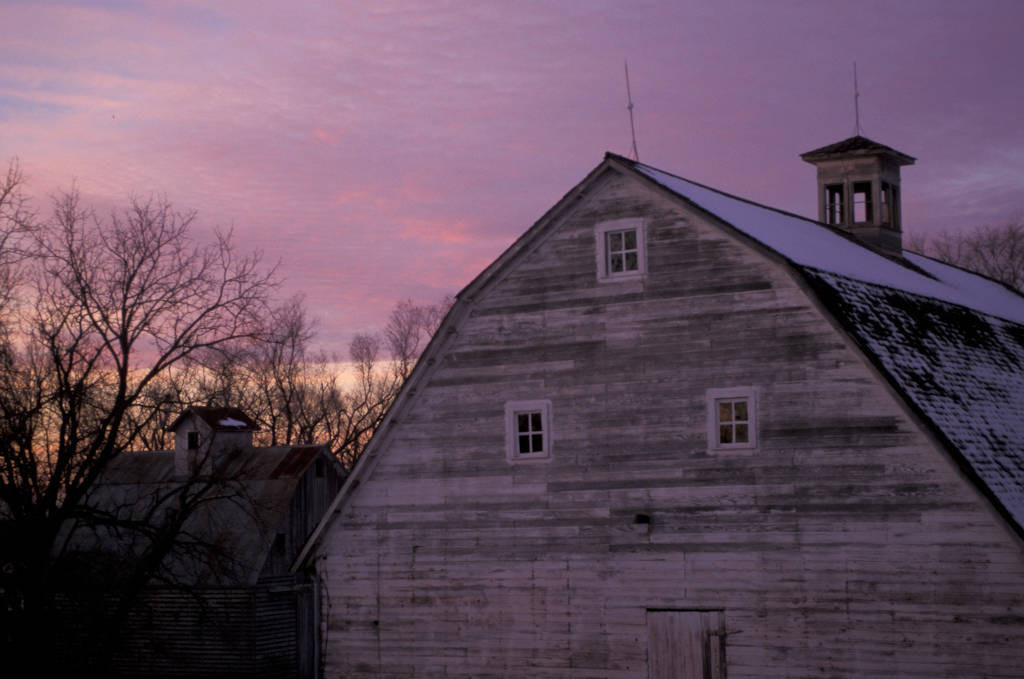 Photo: Barn at historic Waveland farm (farmstead ca. 1890).