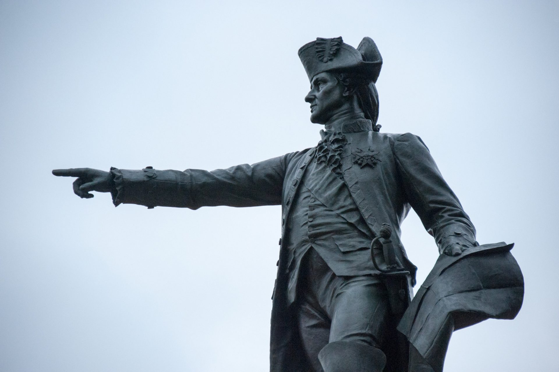 Photo: Statue near The White House, Washinton, District of Columbia.