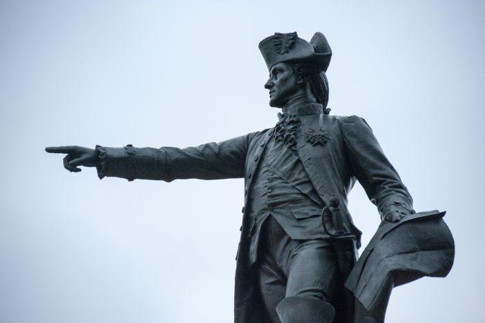 Photo: Statue near The White House, Washinton, District of Columbia.