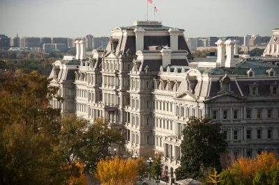 Photo: The Eisenhower Executive Office Building, formerly known as the Old Executive Office Building, Washington, District of Columbia.