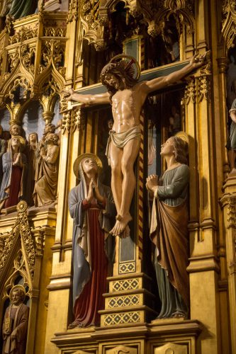 Photo: A sculpture at the Washington National Cathedral in Washington, D.C.