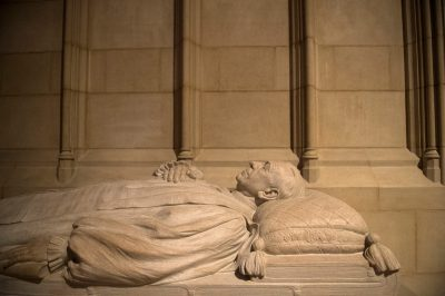 Photo: An effigy at the Washington National Cathedral in Washington, D.C.