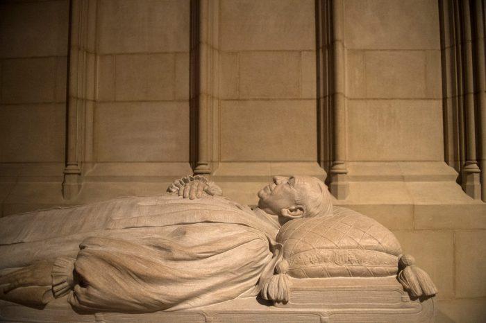 Photo: An effigy at the Washington National Cathedral in Washington, D.C.