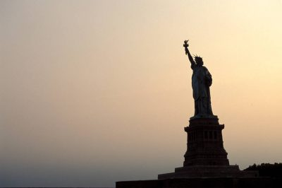 Photo: The Statue of Liberty.