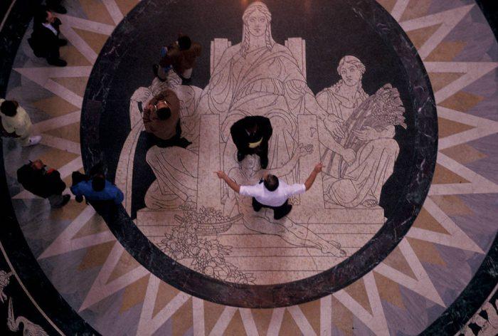 Photo: Scene from the Nebraska State Capitol Building.