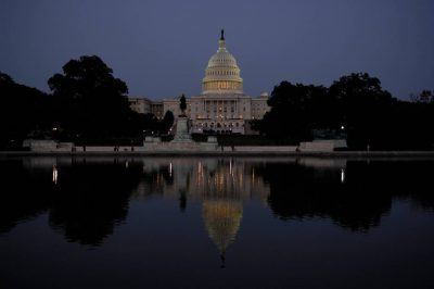 Photo: The US Capitol Building, on the Mall in Washington, DC.