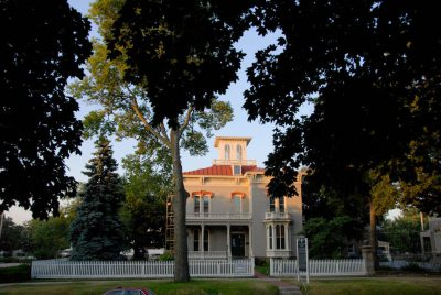Photo: The Kennard House, one of the oldest and most historic homes in Lincoln, Nebraska.
