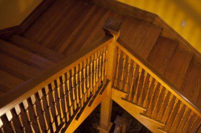 Photo: A staircase in Denver, Colorado.