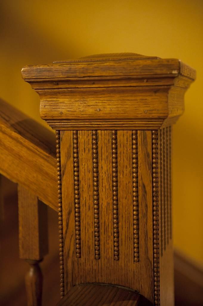 Photo: Part of a staircase in Denver, Colorado.