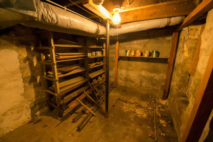 Photo: The basement of the fourth oldest home in Lincoln, Nebraska.