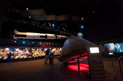 Photo: The Johnson Space Center in Houston, Texas.