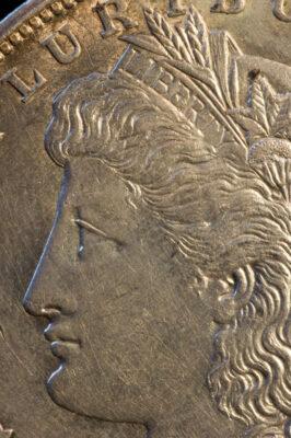 Photo: A U.S. half dollar coin.