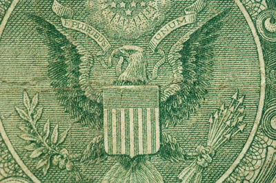 Photo: An old U.S. dollar bill.
