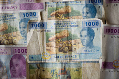 Photo: Currency from Equatorial Guinea.