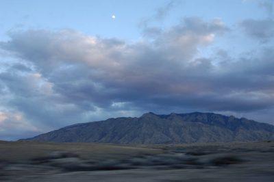 Photo: Scenic near Bosque del Apache NWR in New Mexico.