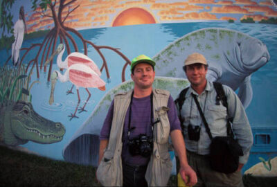 Photo: Joel Sartore at 10,000 Islands NWR in Florida.
