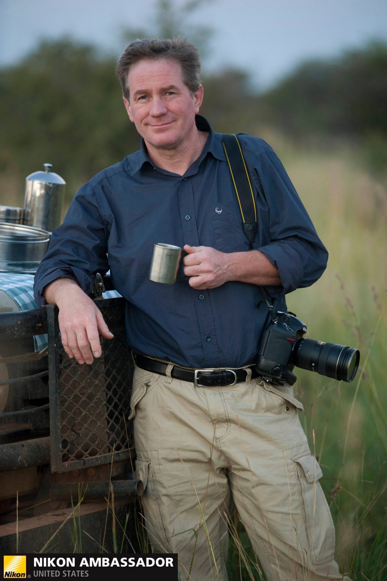 Photo: A Joel Sartore headshot with the Nikon Ambassador watermark.