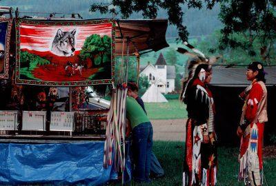 Photo: Dancers at the Nez Perce pow wow in Lemhi, Idaho.