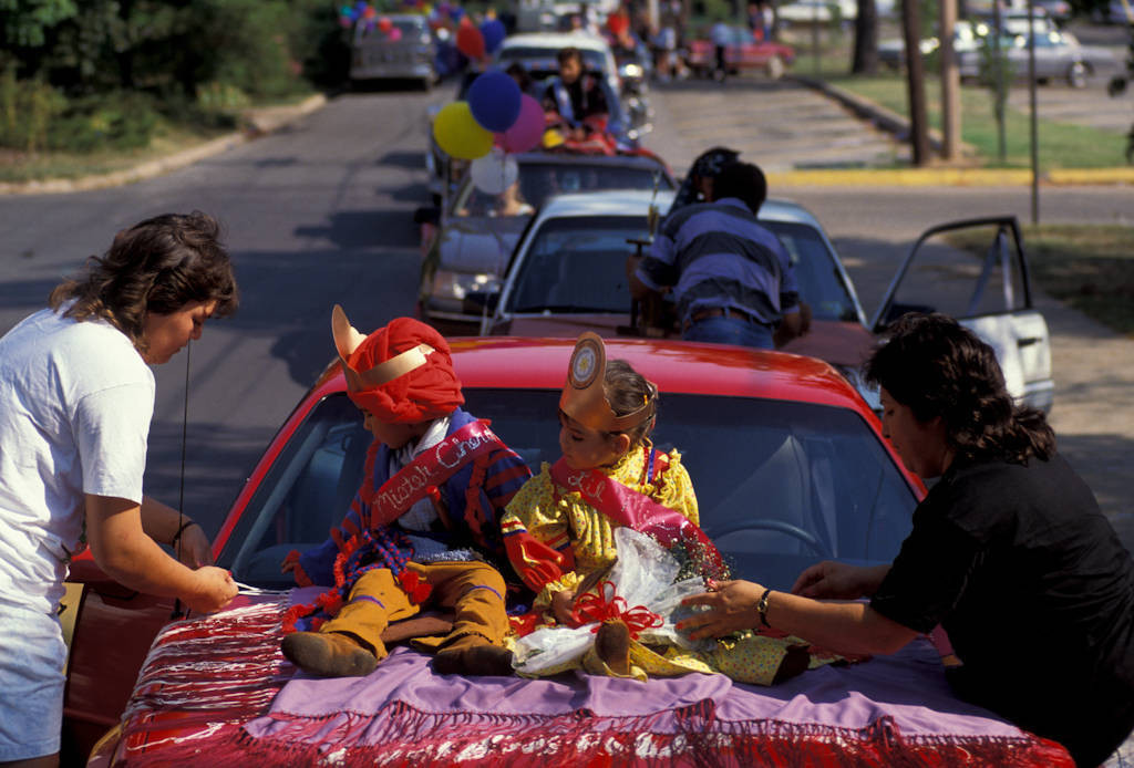 Photo: Parade at the Cherokee National Holiday in Tahlequah, OK.