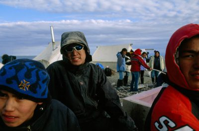 Photo: A youth camp for native kids on the outskirts of Kaktovik, Alaska.
