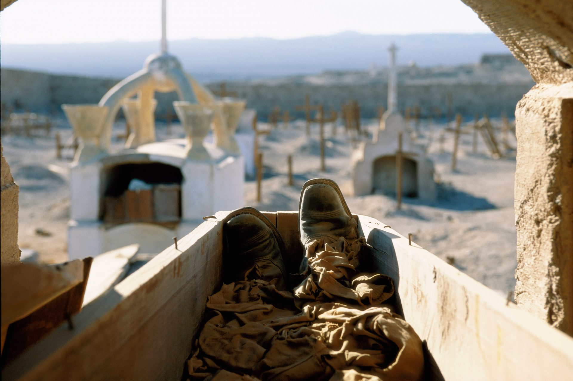 Photo: Abandoned cemetery, Atacama Desert, Chile
