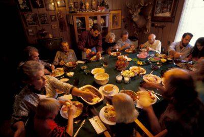 Photo: Family Thanksgiving in Kansas.
