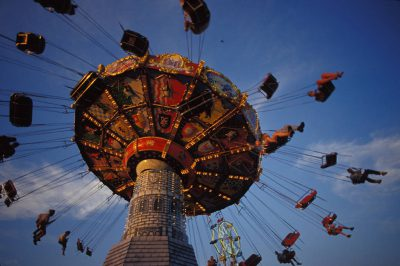Photo: A ride at the Nebraska State Fair in Lincoln.