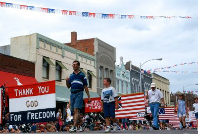 Photo: The 4th of July parade in Seward, Nebraska.