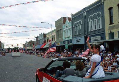 Photo: The 4th of July parade in Seward, Nebraska.
