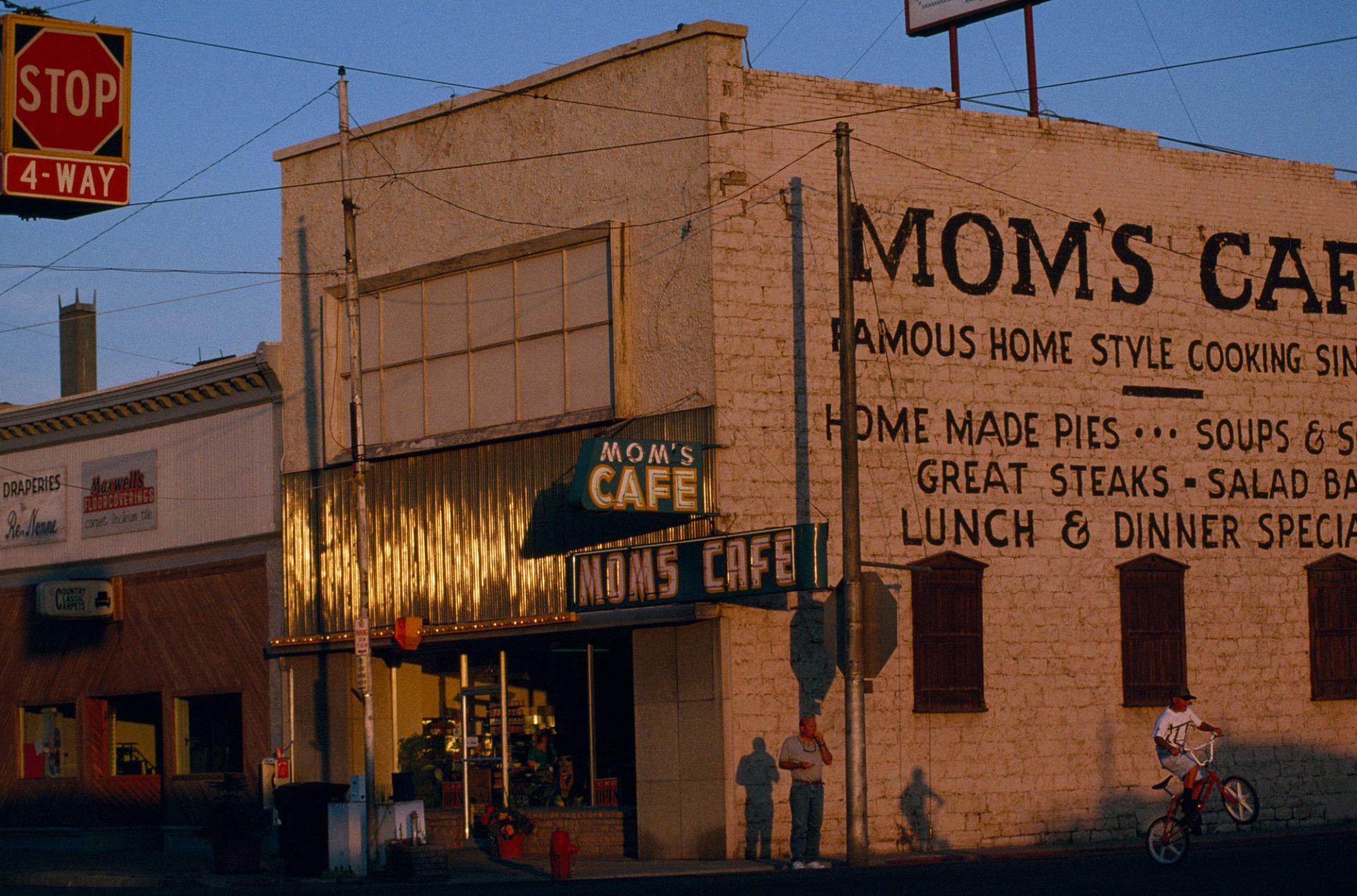 Photo: Mom's Cafe, serving home-style western food, Salina, Utah.